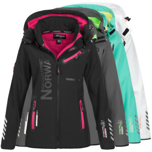 Geographical-Norway-Reveuse-II-Reine-Lady-Damen-Softshelljacke-Funktionsjacke