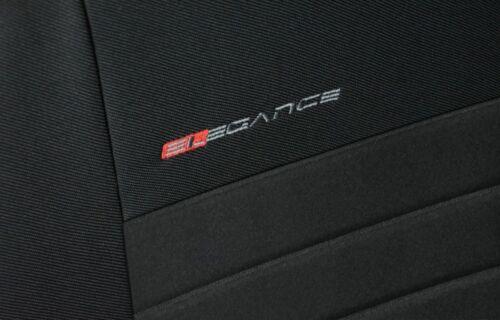Sitzbezüge Sitzbezug Schonbezüge für Hyundai Santa Fe Komplettset Elegance P4