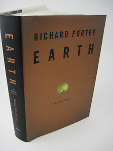 1st-Edition-EARTH-Richard-Fortey-INTIMATE-HISTORY-Science-FIRST-PRINTING
