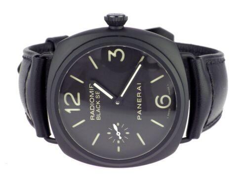 1 von 1 - Panerai Radiomir Black Seal PAM00292 Keramik Handaufzug Herren Armbanduhr 45 mm