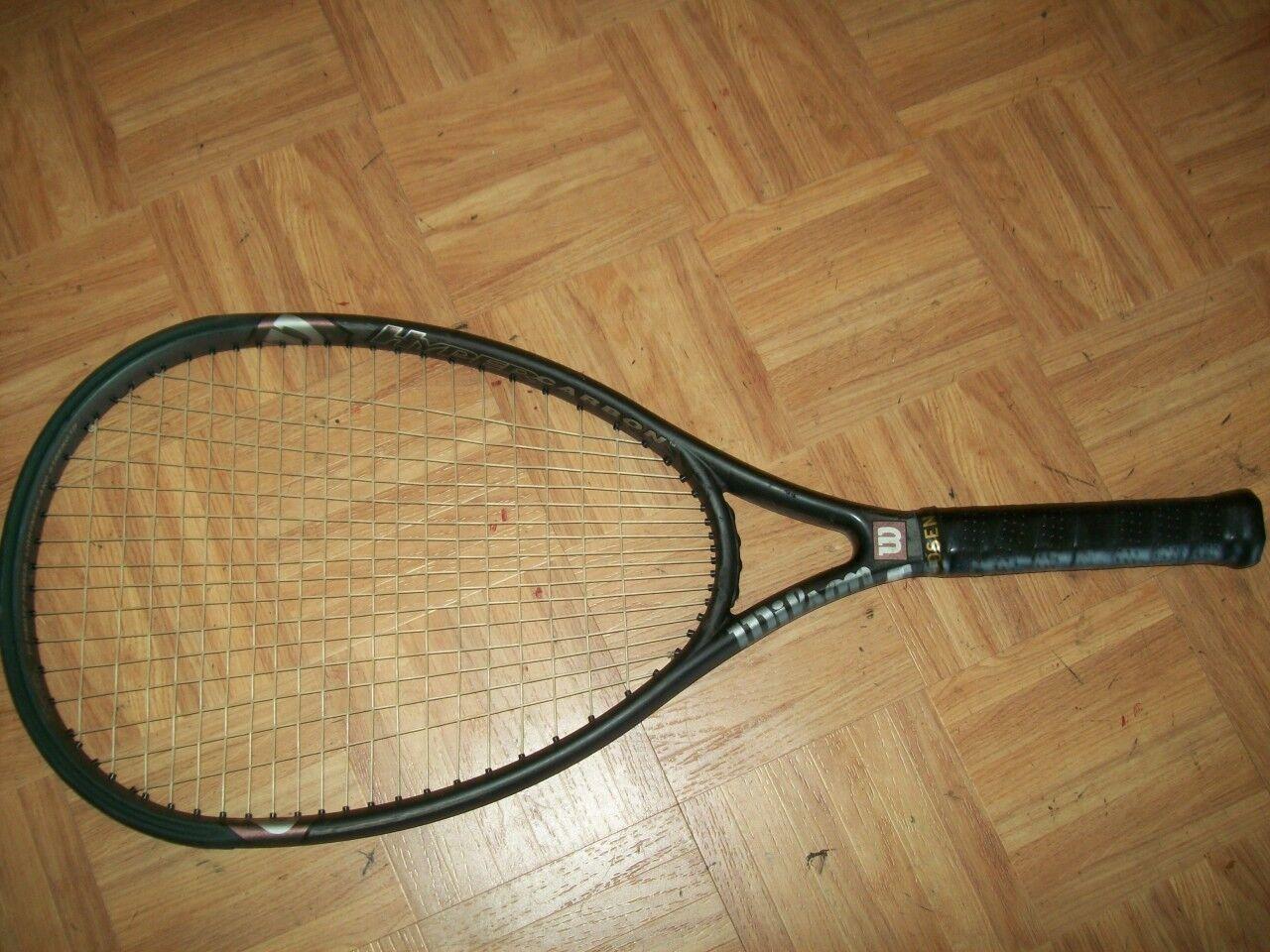 Martillo 2.0 Wilson Hyper Trineo cabeza de gran tamaño 125 4 3 8 tenis raqueta