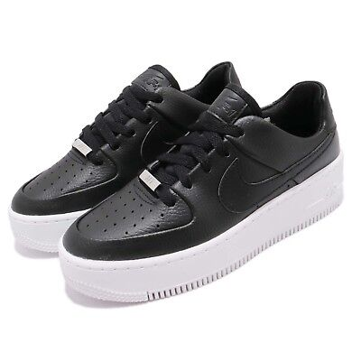 Nike Wmns AF1 Sage Low Air Force 1 Platform Womens Casual Shoes AR5339-002 e1787be01
