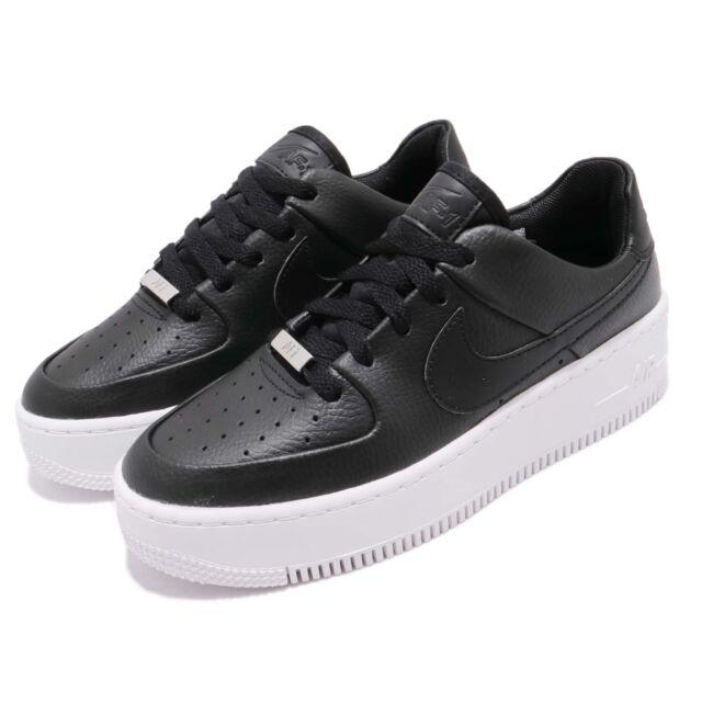 7d4a2de31a998 Nike Wmns AF1 Sage Low Air Force 1 Platform Womens Casual Shoes AR5339-002