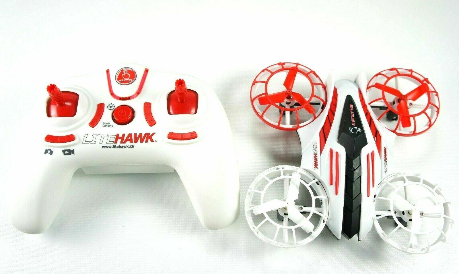 LiteHawk BURST AUTO AUTO AUTO AUTO Flight Functions with