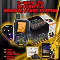Avital 5305l Replace 5303 2 Way Remote Start Car Alarm Security+ Vsm300 + Dball2