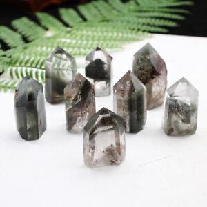 Natural-Green-Ghost-Crystal-Obelisk-Chlorite-Quartz-Green-Phantom-Point-Healing
