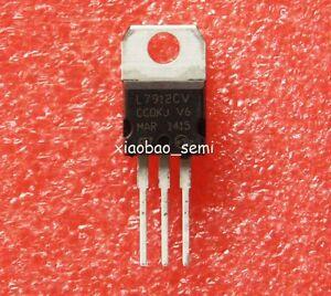 15pcs New L7912CV L7912 7912 TO-220 Voltage Regulator -12V 1.5A