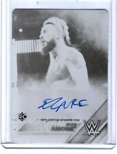 WWE Enzo Amore 2016 Topps TNF Black Printing Plate Autograph Card SN 1 of 1