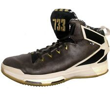 new product 20f6d b5903 Adidas 733 D Derrick Rose Jesse Owens 11.5 Skin BOOST 6 High Top Basketball  Shoe