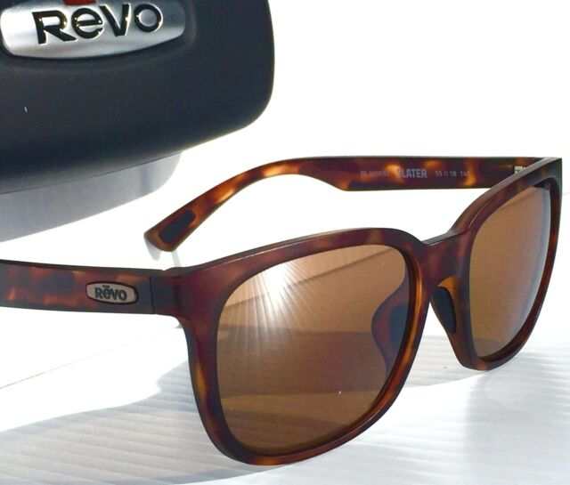 f549790844 Frequently bought together. NEW  REVO SLATER Matte TORTOISE POLARIZED  Bronze Terra Sunglass 1050 ...