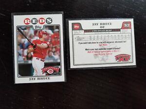 2009 Tarjetas De Cincinnati Reds redsfest Topps Bruce Votto Phillips