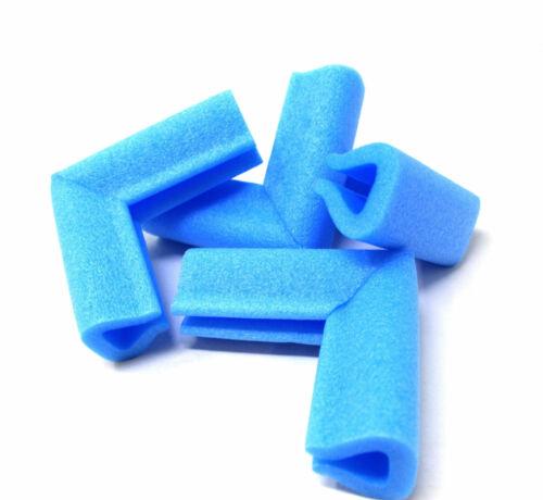 Cadre photo coin protections bleu mousse PE 15 mm - 60 mm bébé de garde Edge