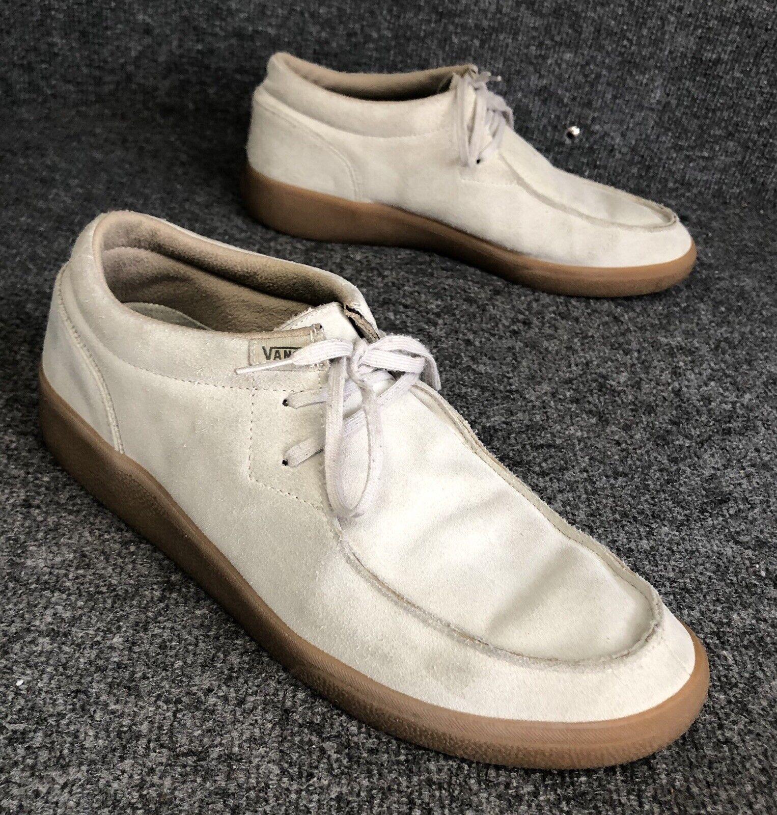 Vans Rata Sport Suede Lace Up Moc Toe Desert Chukka Boots shoes Mens Size 13 EUC