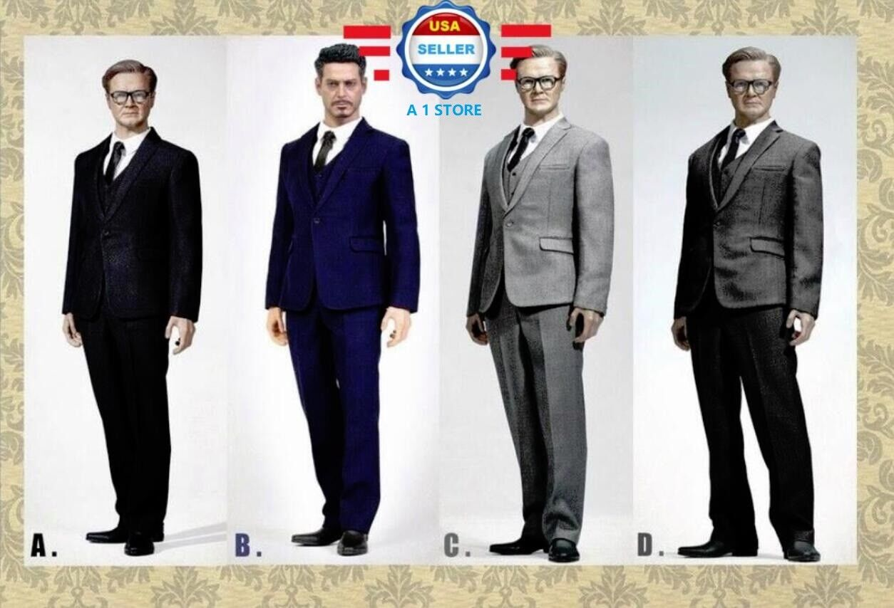 Poptoys 1   6 standard - männer anzug im westlichen stil 12  körper coomodel bd001