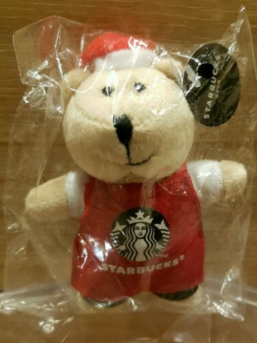 Starbucks bearista magnet red apron
