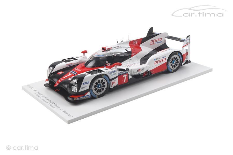 Toyota TS050 Hybrid - 24h Le Mans 2017 - Conway   Kobayashi   Sarrazin - Spark -  | Qualitätskönigin