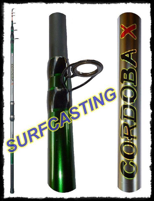 Canna pesca cordoba lancio 150g pesca Canna surfcasting mare spiaggia carbonio orata 765f68