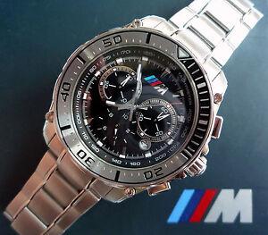 BMW-M-Power-Motorsport-Racing-Style-GTR-GTS-DTM-Sport-Design-Chronograph-Watch