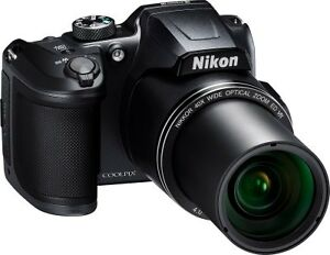 Nikon Coolpix B500 (Black) 16 MP Digital Camera with 40x...
