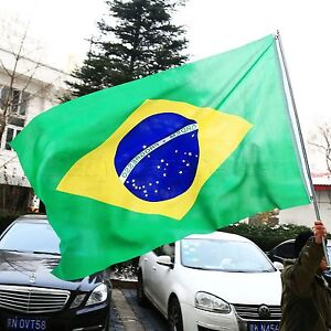Brazil-National-Country-Flag-3x-5-feet-polyester-Big-Banner-flag-Olympic-Games