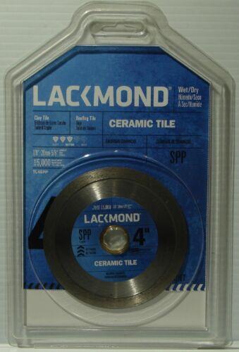 "Lackmond TL4SPP 4/"" Premium Diamond Continuous Rim Dry Grinder Tile Saw Blade"