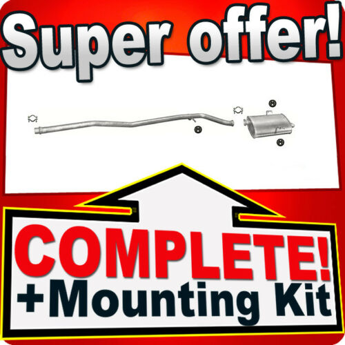 Peugeot 406 2.0 2.2 HDi TD cars with DPF 2000-2004 Silencer Exhaust System 699