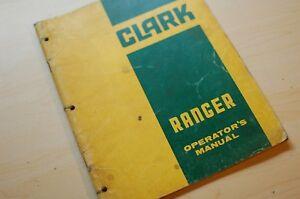 Details about CLARK RANGER 664 666 LOG GRAPPLE SKIDDER Owner Operator  Operation Manual book