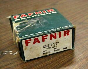 """Fafnir SCJT 1 3/8 Standard Duty 2-Bolt 1 3/8"""" Flanged Bearing - NEW - NEW"""