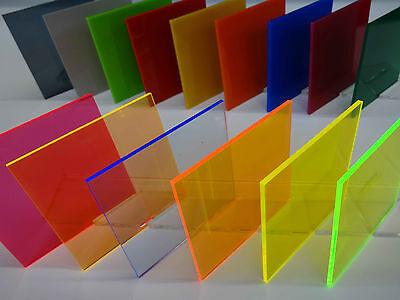 3mm XT Acryl-Zuschnitt//Plexiglas-Platte transparent 25 x 20 cm