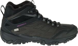 6d40a09ab04 Details about Merrell Moab FST Ice Plus Thermo Womens Walking Boots - Black