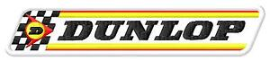 AgréAble Dunlop Racing Flag Ecusson Brodé Patche Thermocollant Iron-on Patch