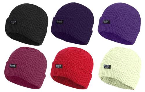 4 Damen Mütze 3M Thinsulate Isolierung Vlies Einheitsgröße Winter Multipackung