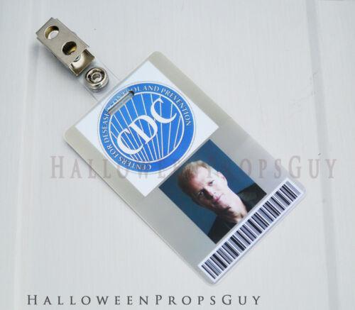 The Walking Dead Style Edwin PVC ID Card Prop Replica Made in USA TWD