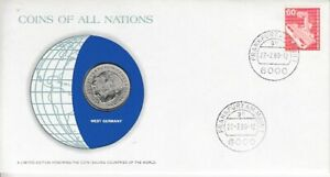 Numisbrief-Coins-Of-All-Nations-Frg-West-Germany-1980