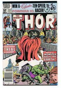 Thor-313-VF-NM-Newsstand-Marvel-Comics-1962-Series-CBX1X