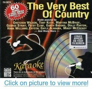 Best-of-Country-Karaoke-60-Song-4-CDG-Pack-FOREVER-HITS