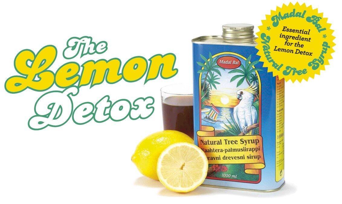 Madal Bal Natural Tree Syrup (1 Ltr) -The Lemon Detox