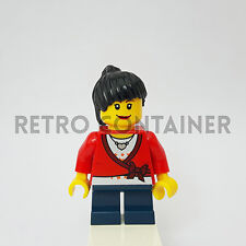 LEGO Minifigures - 1x cty193 - Girl - Child Town Omino Minifig City Set 2824