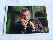 Star Trek The Original Series 2009 Promo Card P1