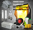 250-1000w HPS MH Magnetic Grow Light Reflector Grow Tent Hydroponics Kit System