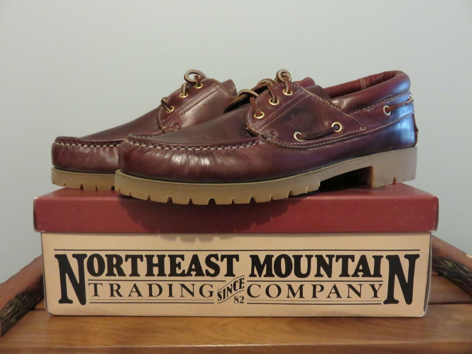 NOS Northeast Vintage Co. Mountain Trading Co. Northeast Vintage Northeast Deck Schuhe ... fce5b7
