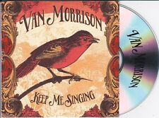 VAN MORRISON KEEP ME SINGING RARE 1 TRACK PROMO CD