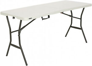 Lifetime-5-foot-Light-Commercial-Folding-Table-Banquet-Outdoor-Indoor-White