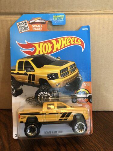 Hot Wheels 2016 Ram 1500 4X4 144//250 New Yellow
