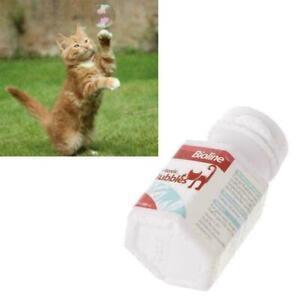 Haustiere-Katze-Katzenminze-Blasen-Spruehen-Spielzeug-Interaktives-Blasenge-F7P3