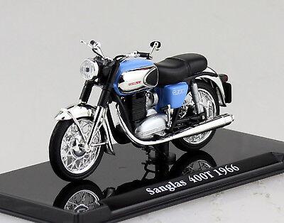 Modell Sanglas 400T 1966 Atlas 1:24 Motorrad