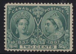 MOTON114-52-Jubilee-2c-Canada-mint-well-centered-XF-cv-50