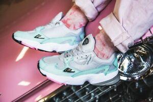 perturbación Hija Limpiar el piso  Adidas Originals Falcon Casual Women's Running Shoes B28127 Size 9.5  AUTHENTIC   eBay