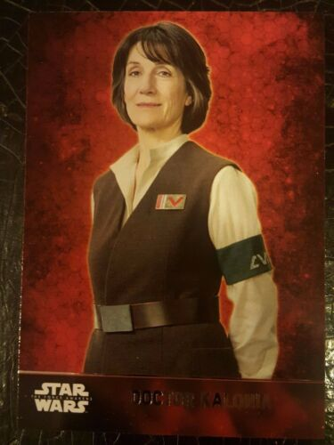 2015 Topps Star Wars The Force Awakens #33 Doctor Kalonia NM-Mint