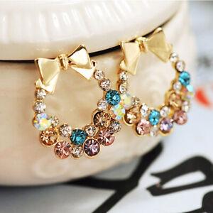 Lady-Earrings-Crystal-Stud-Christmas-Elegant-Fashion-Rhinestone-Women-Ear